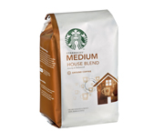 STARBUCKS CAFE HOUSE BLEND ARABICA MEDIUM 226GR GRANO MOLIDO